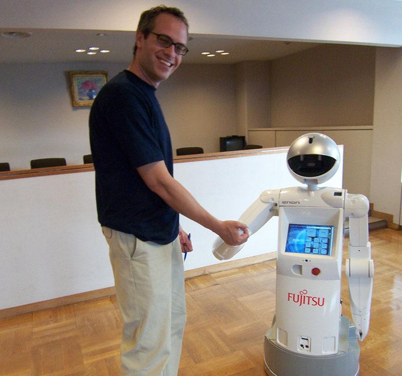 An actual robot