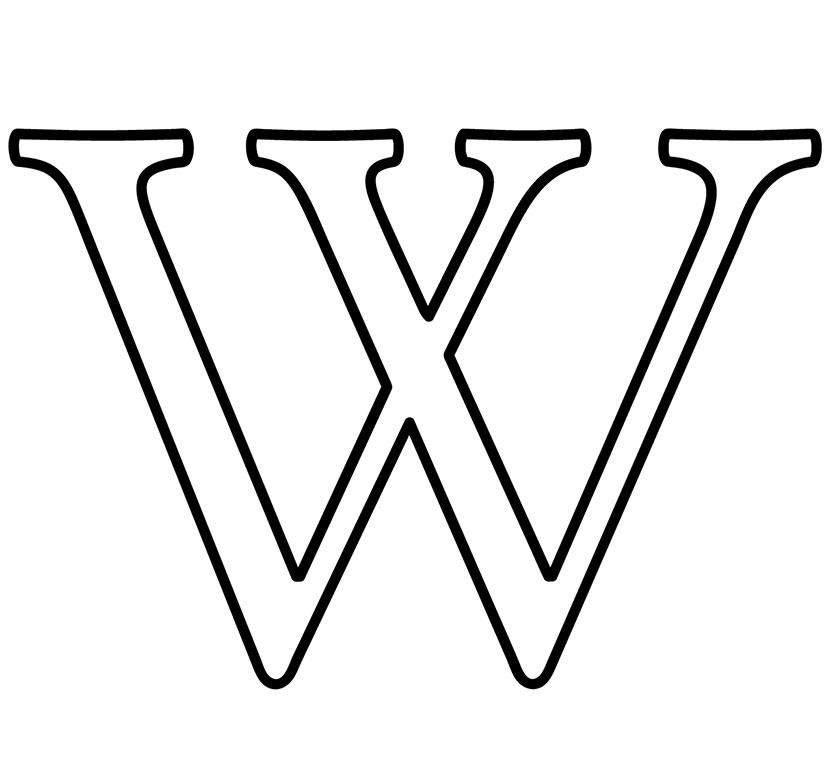The Wikipedia 'W'